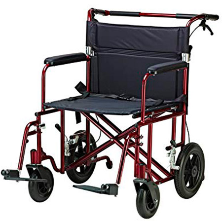 Drive Medical Silver Sport Reclining Wheelchair