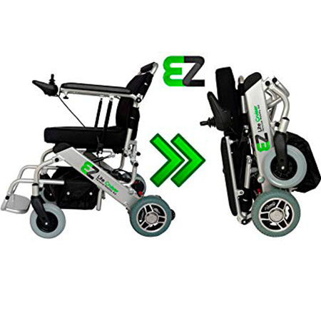 EZ Lite Cruise Power Wheelchair