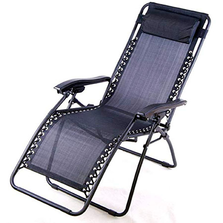 Outsunny Zero Gravity Recliner Pool Chair