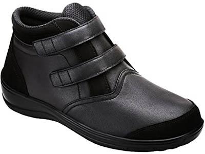 Tivoli Black Diabetic Women Boots