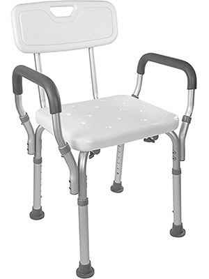 Vaunn Medical Spa Shower Chair with Arms