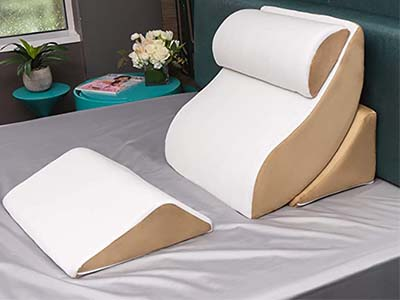 Avana Kind Bed Orthopedic Support Pillow with Bamboo Cover