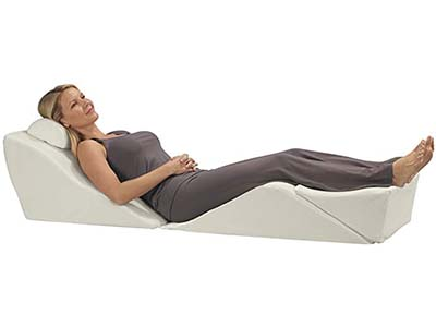 Contour BackMax Full Body Foam Wedge Pillow