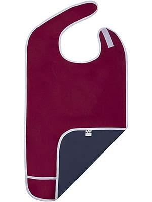Shorewood Medical Adult Bib with Crumb catcher