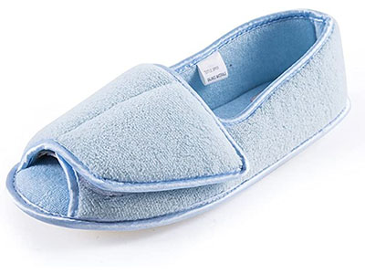 Git-Up Women Diabetic Slippers for Seniors with Edema and Arthritis