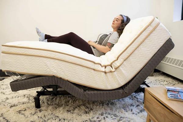 Lineal Adjustable Base Bed by Saatva