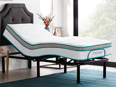 Linenspa L300 Adjustable Bed Base