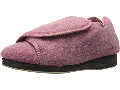 Silvert's Women Extra Wide Adjustable Slippers – Edema and Diabetic