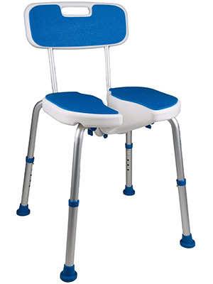 PCP Shower Safety Seat with Non-Slip Bath Support
